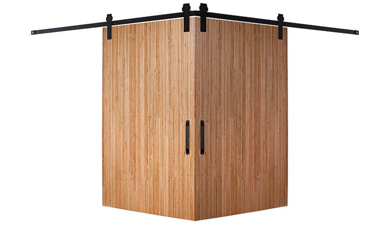 Bryce Corner Barn Door