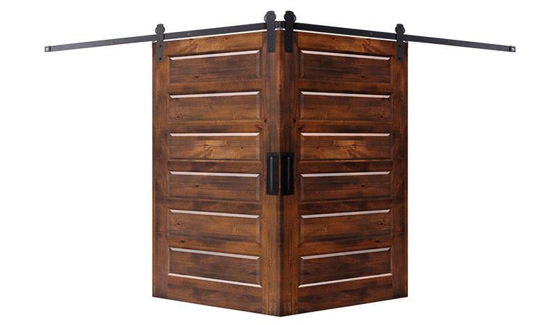 6 Panel Corner Barn Door