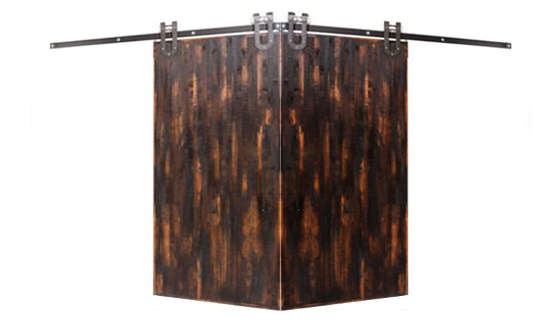Vertical Rip Top Corner Barn Door