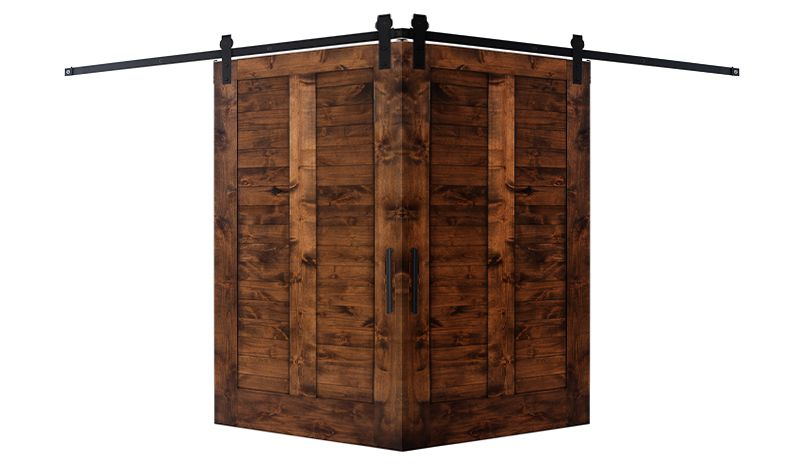Heartland Corner Barn Door
