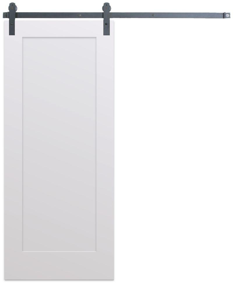 Contemporary Single Panel Barn Door