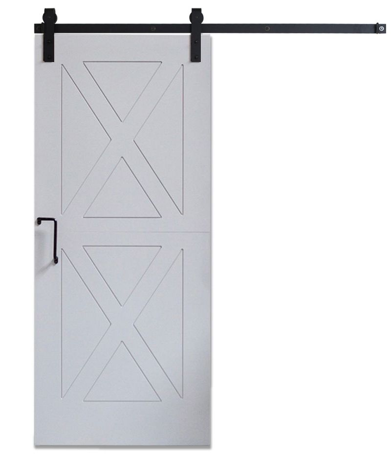 DIY Panel Door Gray - Same Day Ship - 3ft x 7ft