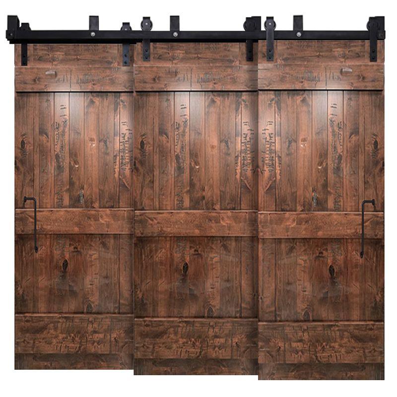 Ranch Triple Bypass Barn Door