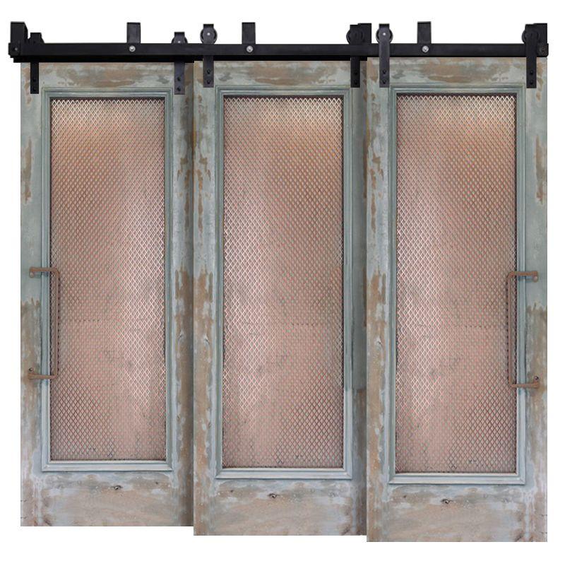 Abandoned Triple Bypass Barn Doors