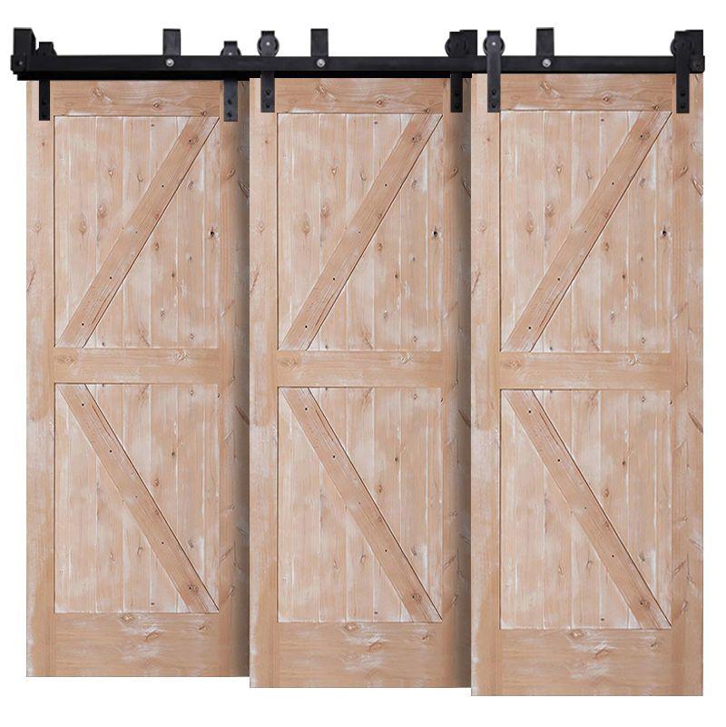 Stable Triple Bypass Barn Doors