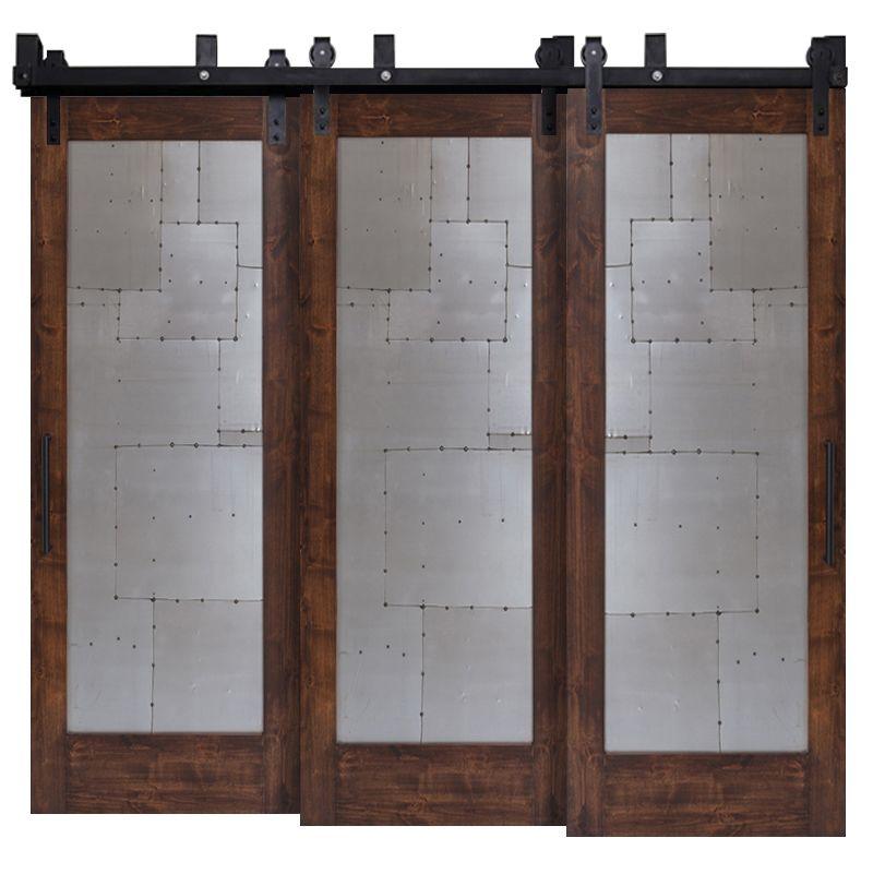 Steampunk Triple Bypass Barn Doors