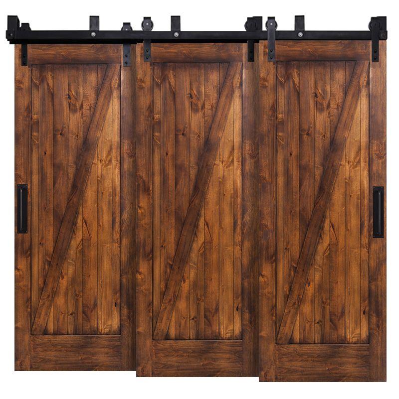 Z Triple Bypass Barn Doors