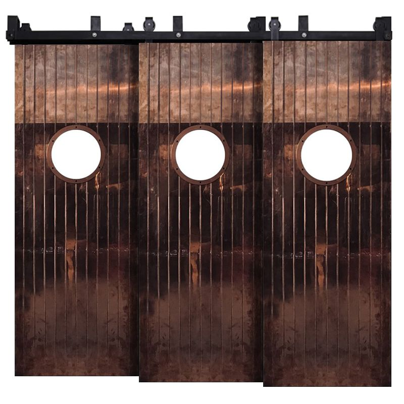 Penny Rail Triple Bypass Barn Doors