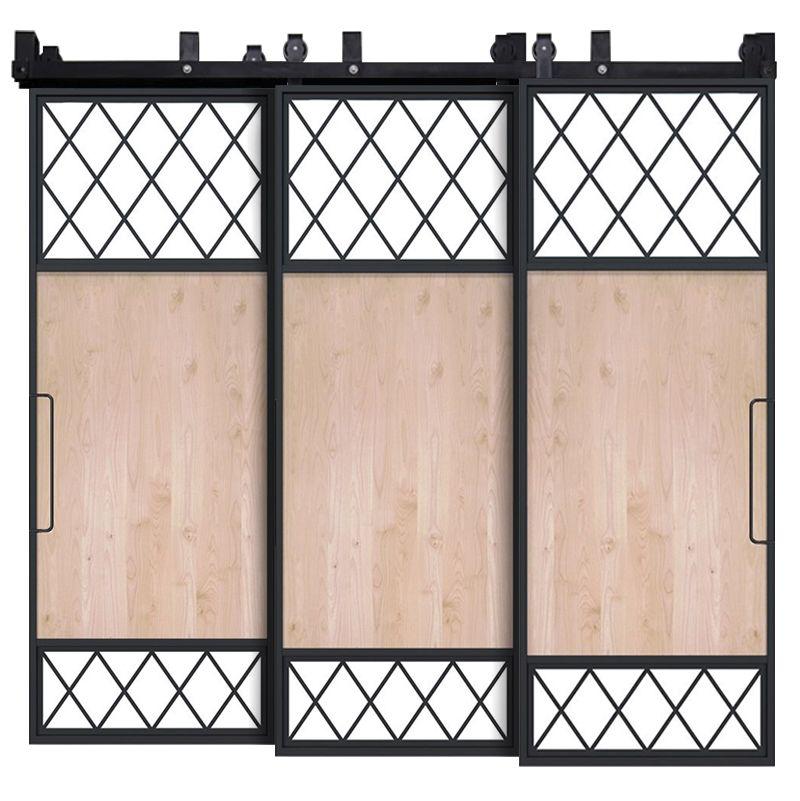 Tiller Shed Triple Bypass Barn Doors