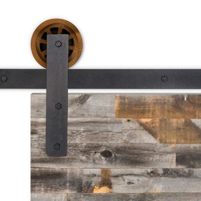 Upton Barn Door Hardware - Big Wheel