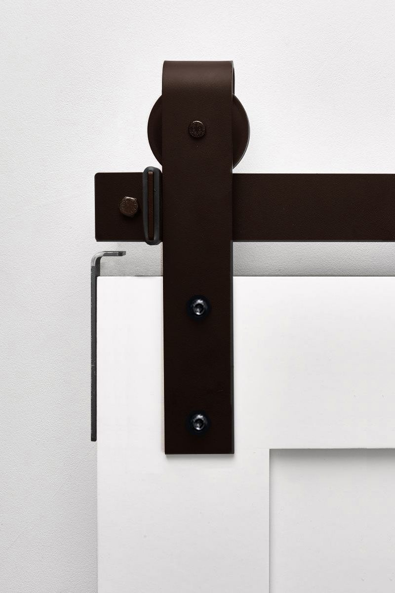 Stag Oil Rubbed Bronze - Same Day Ship Barn Door Hardware