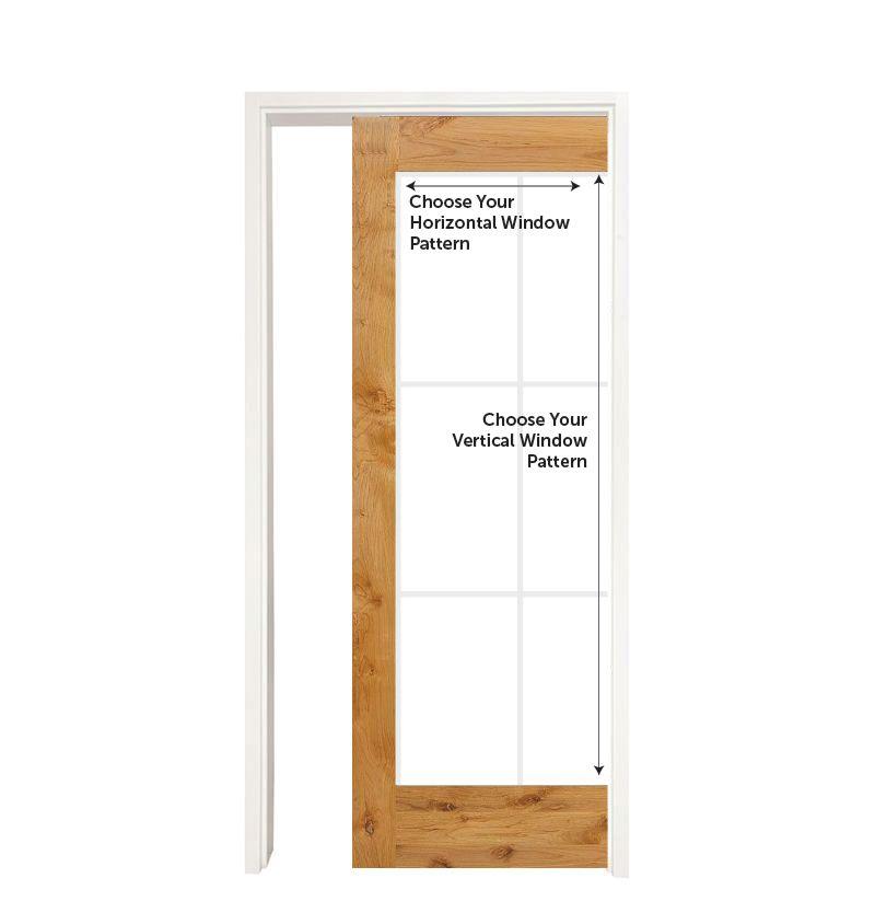 Custom Wood Single Pocket Door