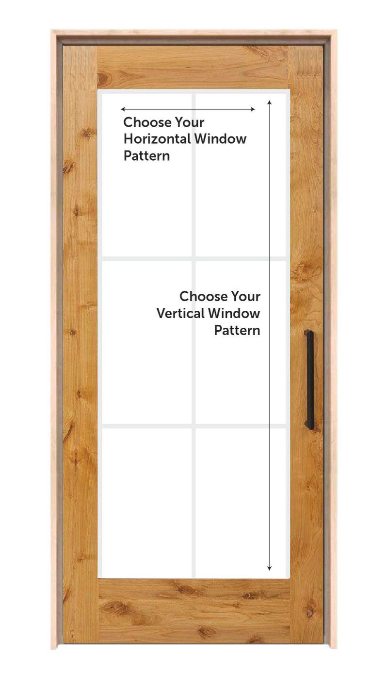 Customizable Interior Wood Door