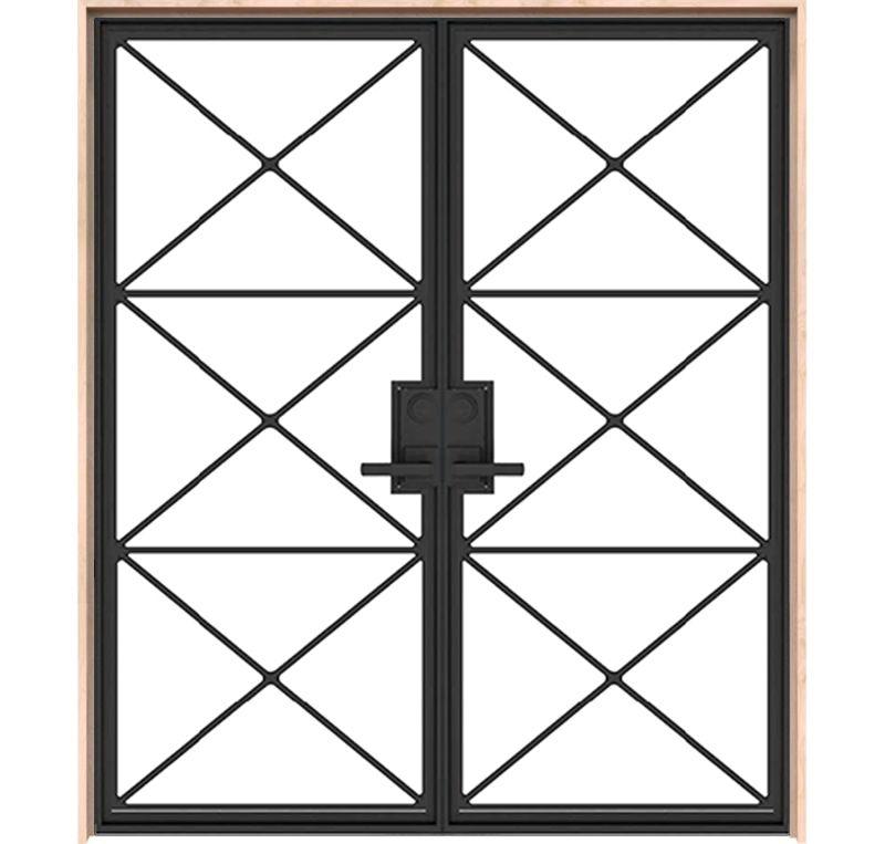 Noble Double Interior Metal Doors