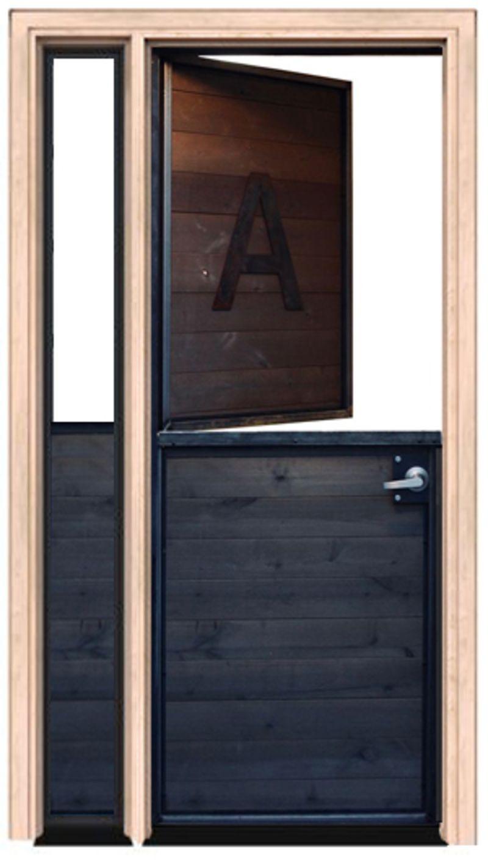 Modern Dutch Door With Sidelight
