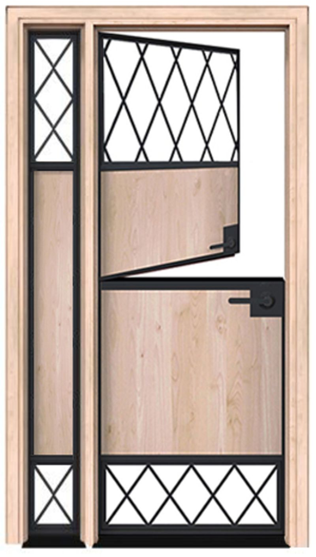 Vista Dutch Door With Sidelight