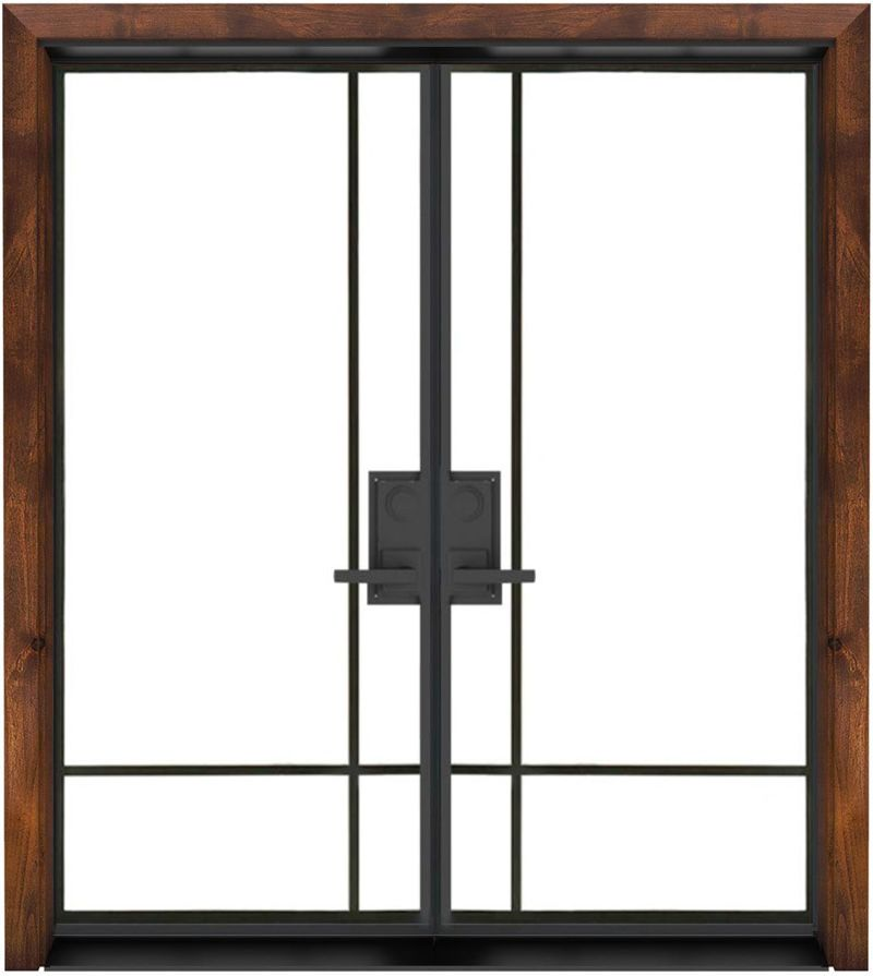 Traveler Exterior Double Door