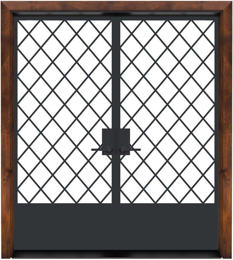 Alley Vineyard Exterior Double Door
