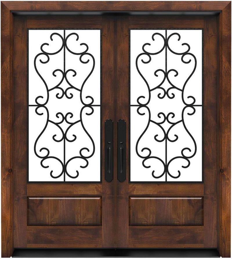 Manor Double Front Door