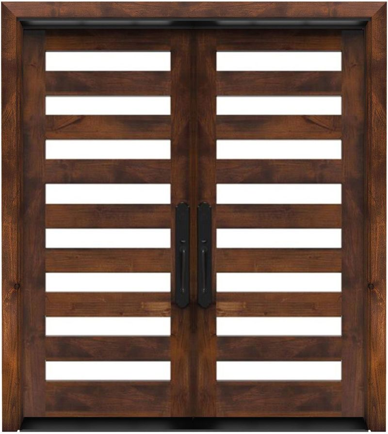 Highland Double Front Door