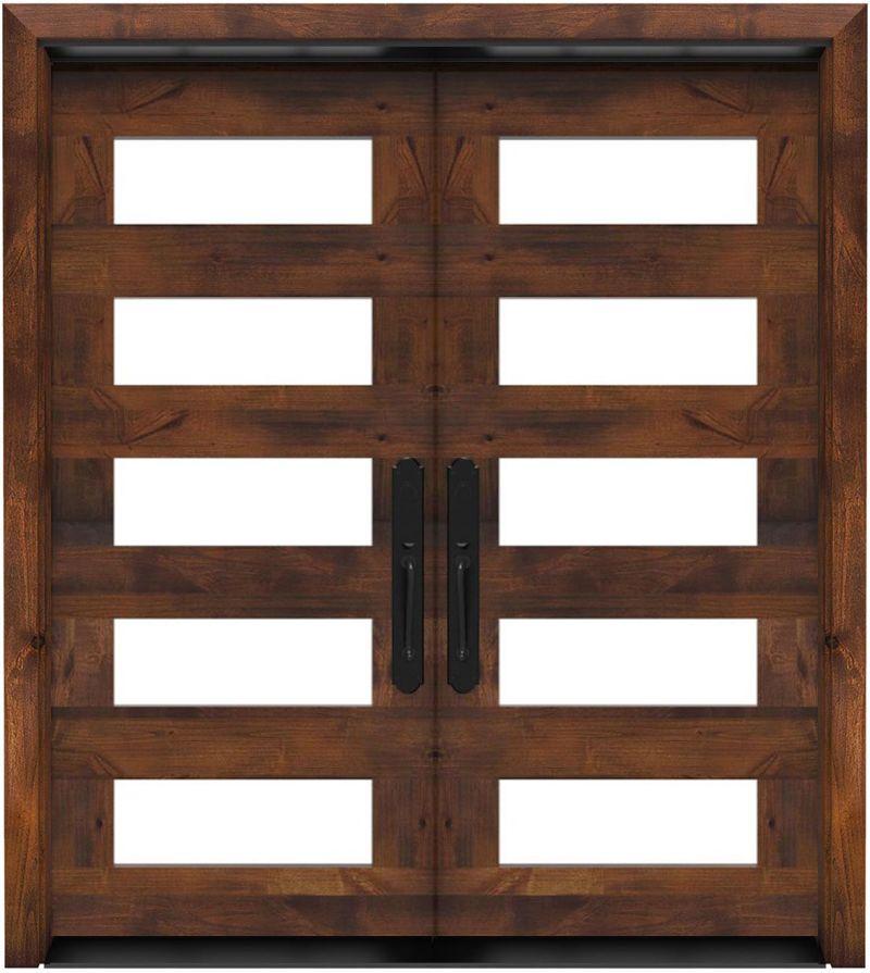 East Bench Double Front Door