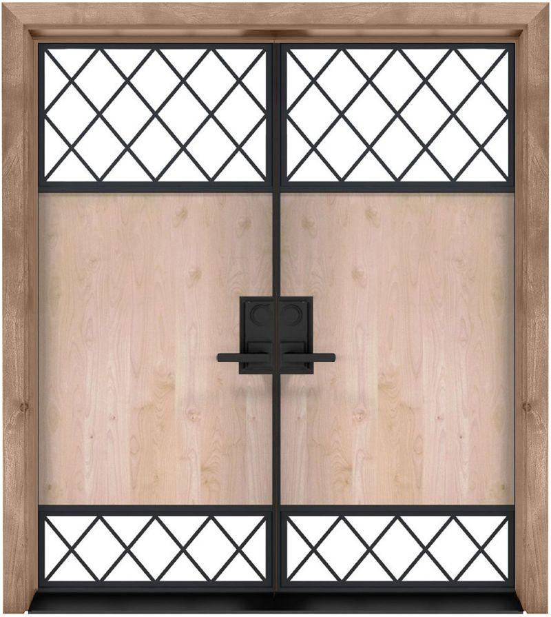 Galley Exterior Double Door