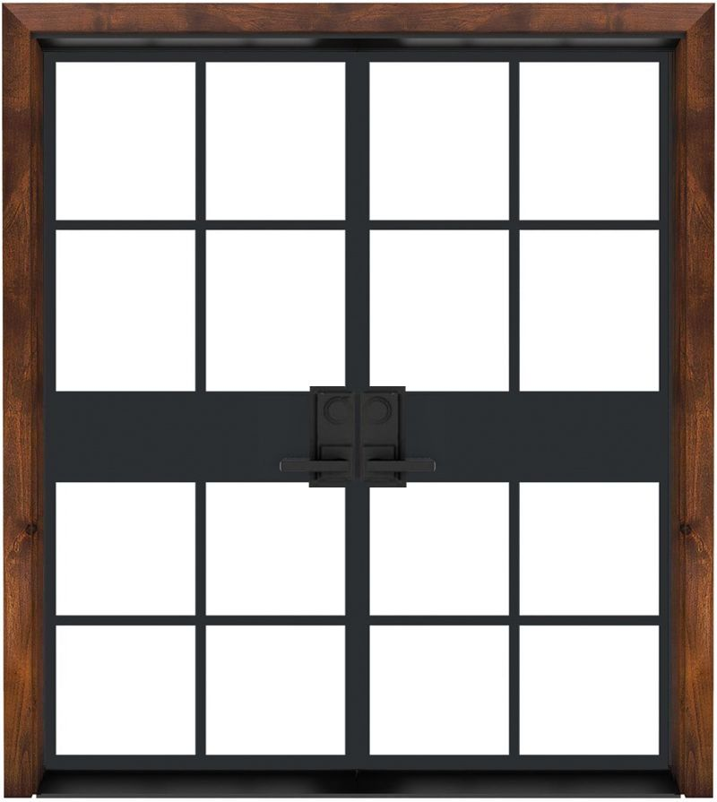 Atrium Exterior Double Door