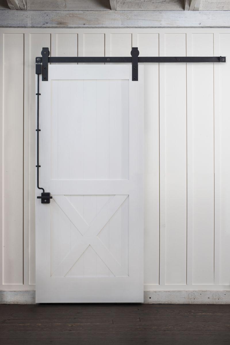 Barn Door Lock: Self-Latching Barn Door Lock