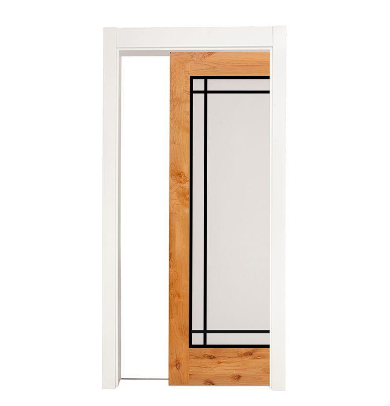 Prairie Single Pocket Door