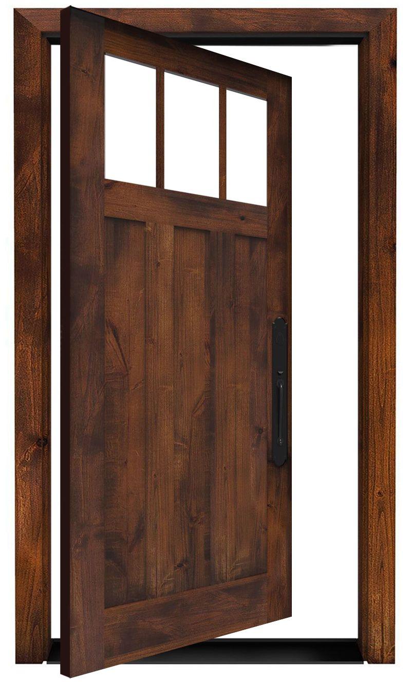 Overland Exterior Pivot Door