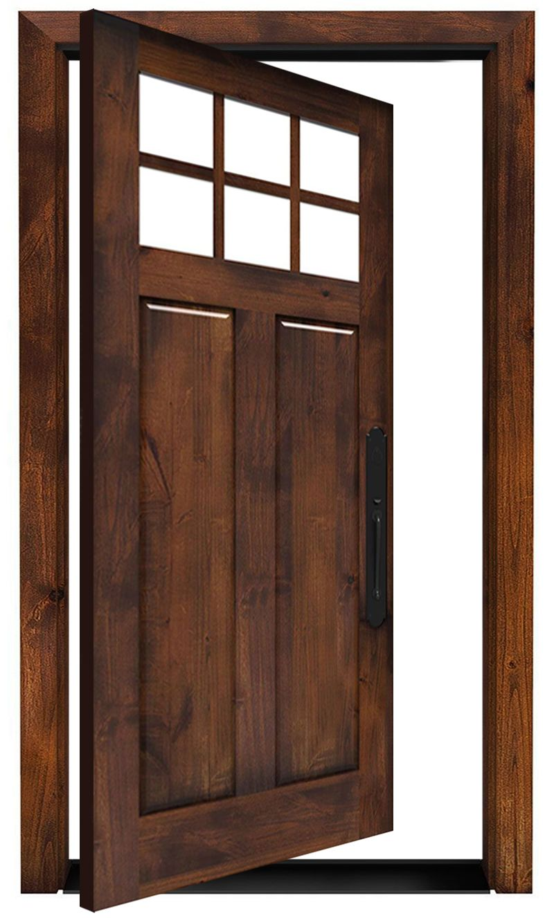 Maple Dale Exterior Pivot Door