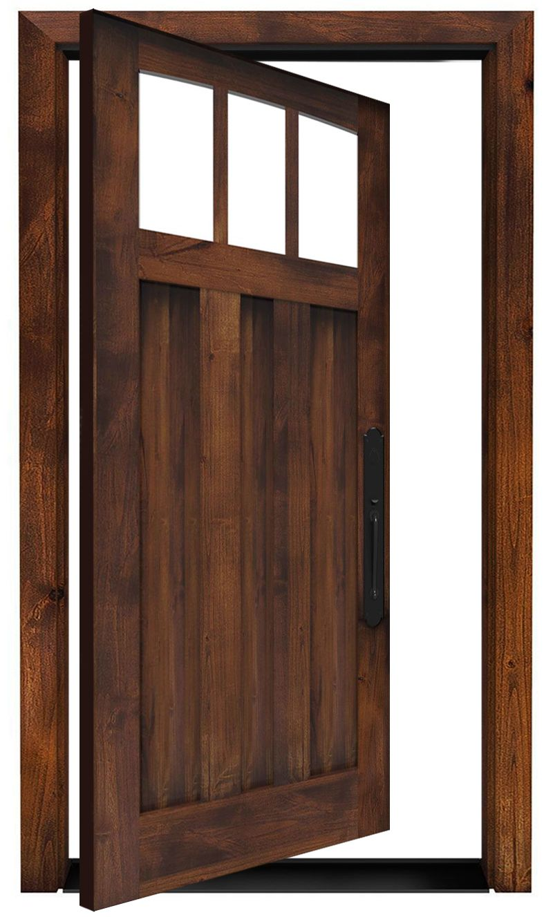 Woodsman Exterior Pivot Door