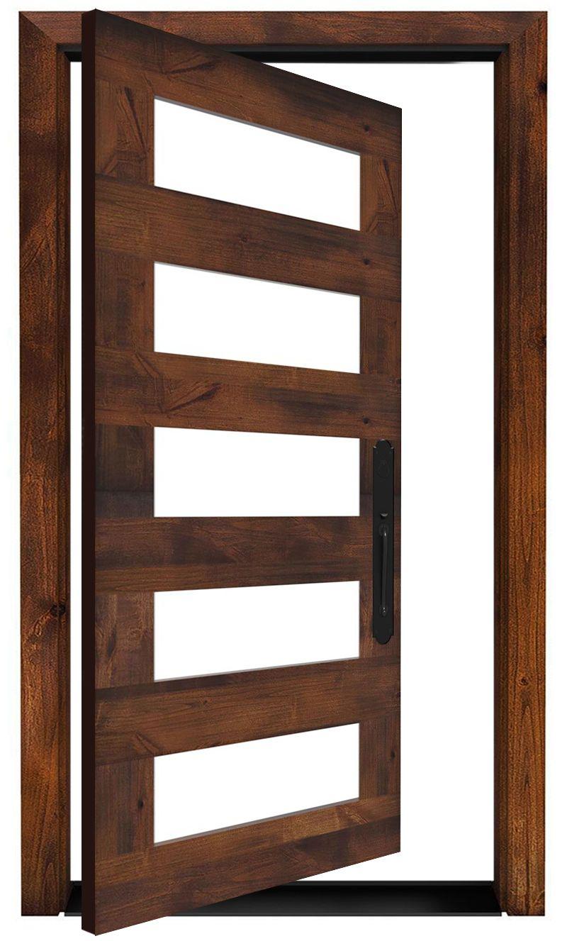 East Bench Exterior Pivot Door