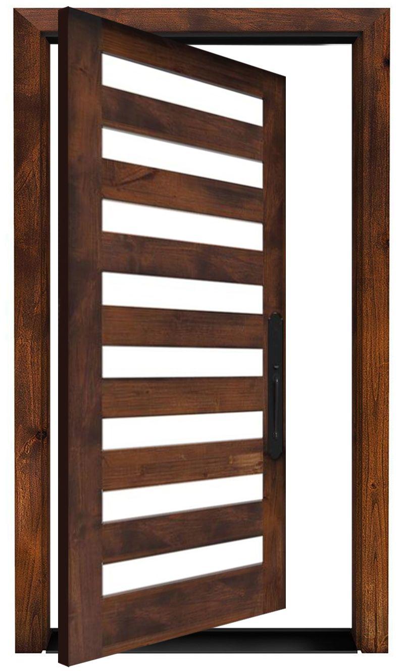 Highland Exterior Pivot Door