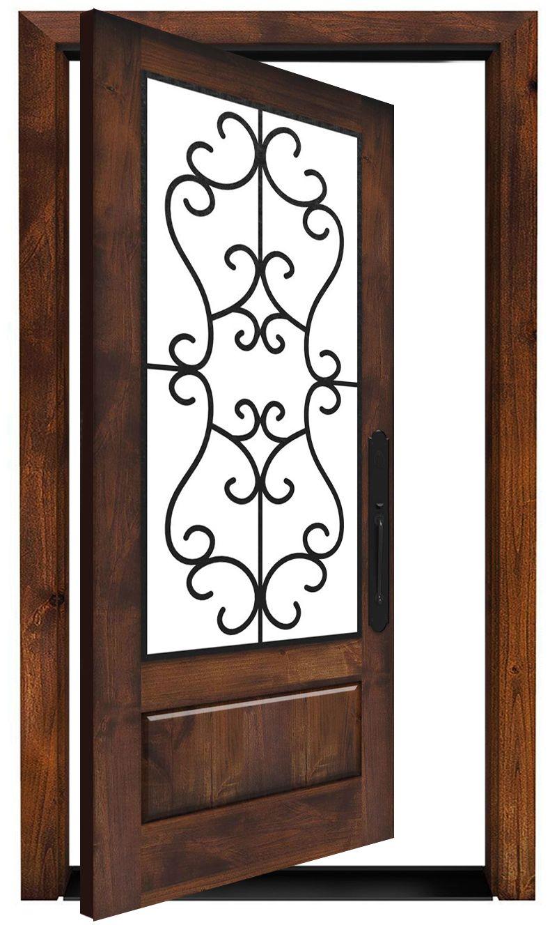 Manor Pivot Door