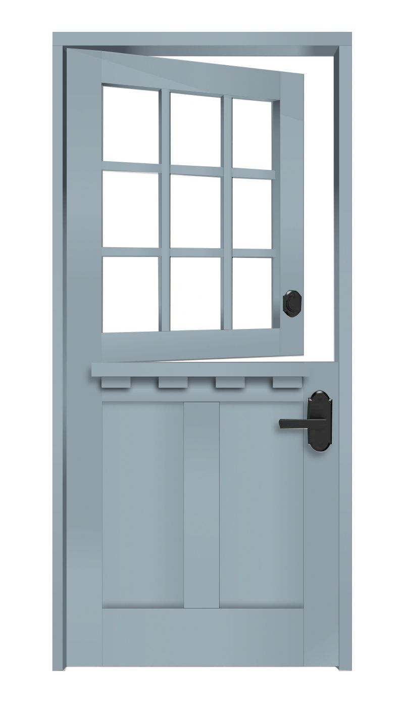 Apron Dutch Door