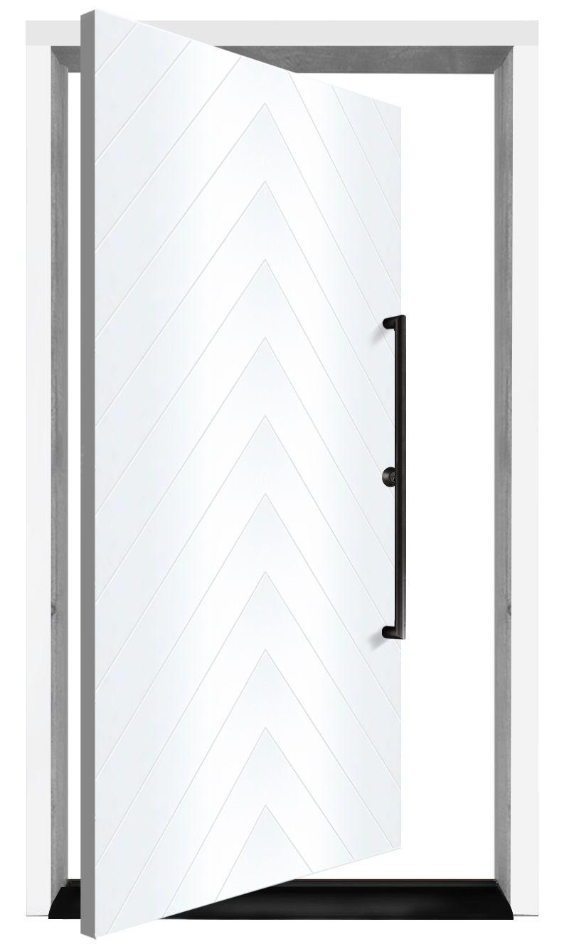 Stout Exterior Pivot Door