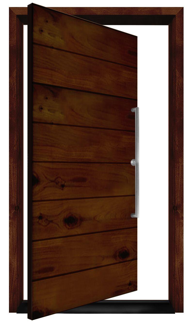 Foundation Exterior Pivot Door