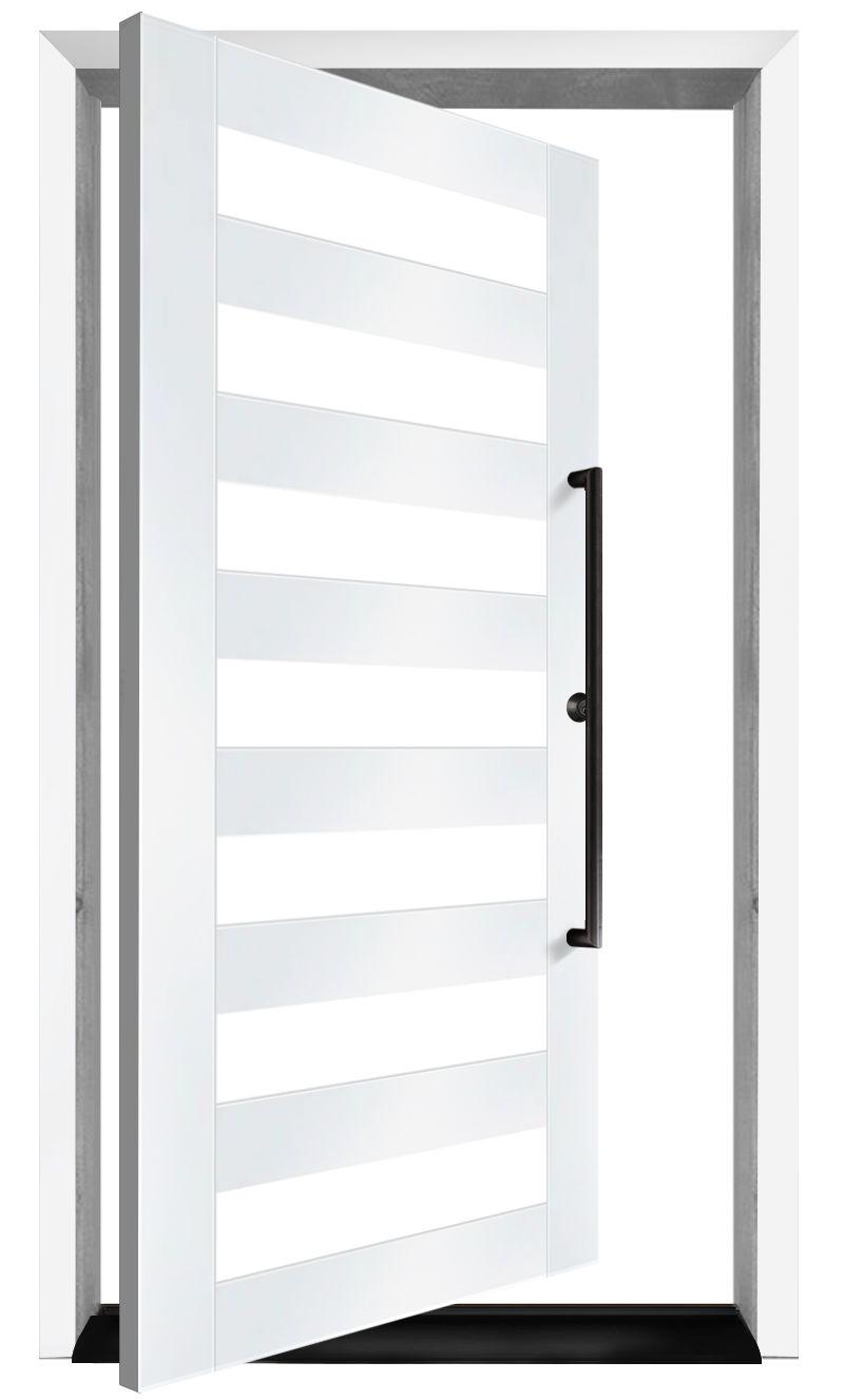 7 Panel Exterior Pivot Door