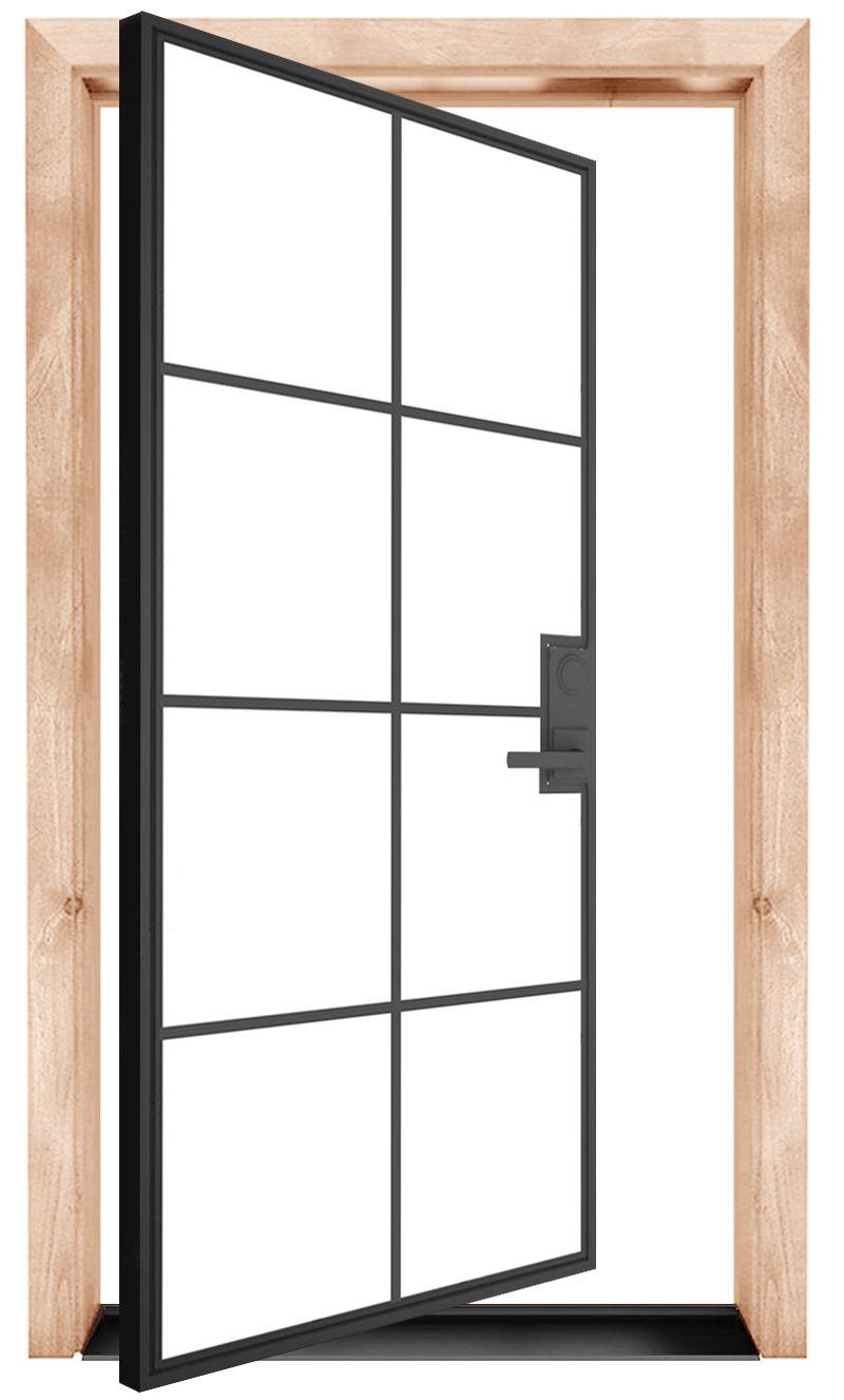 Provence Exterior Pivot Door