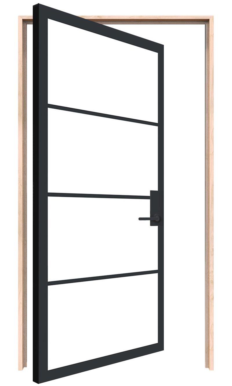 Modern Cottage Interior Pivot Door