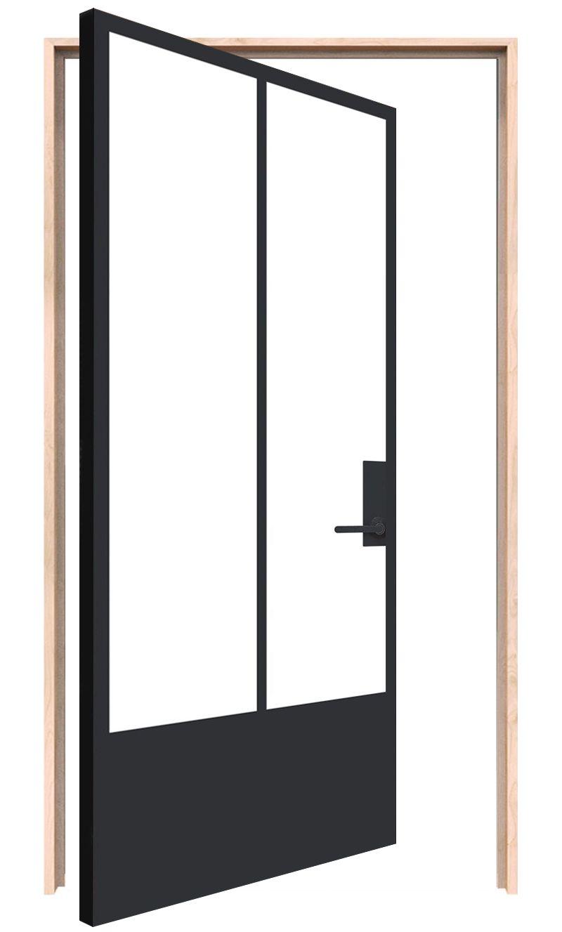 Veranda Interior Pivot Door