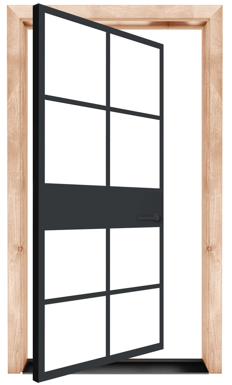 Atrium Exterior Pivot Door