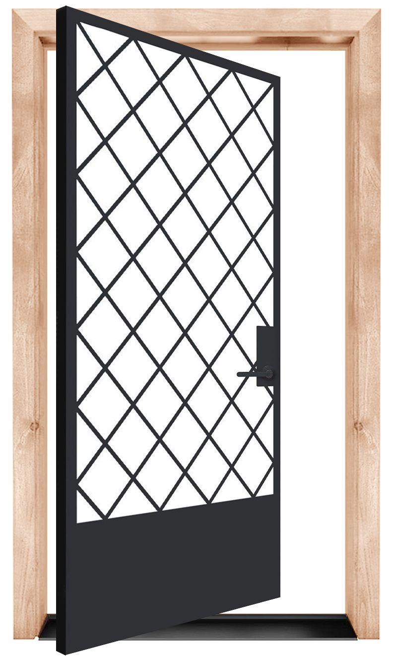 Alley Vineyard Pivot Exterior Pivot Door