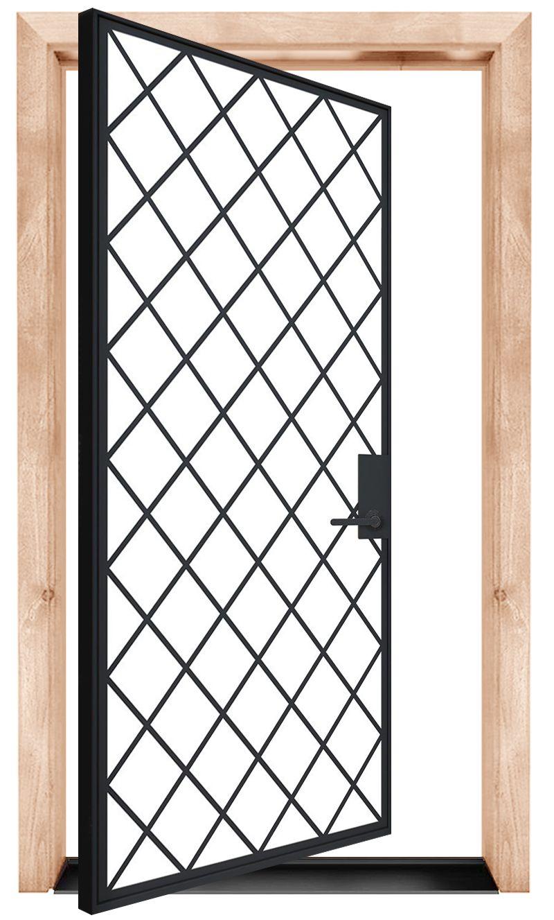 Chateaux Commons Exterior Pivot Door