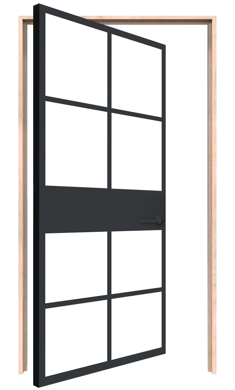 Atrium Interior Pivot Door