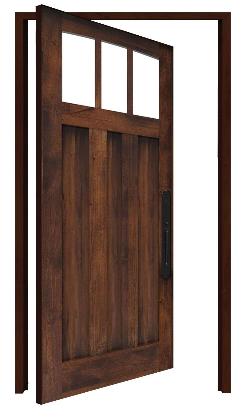 Woodsman Interior Pivot Door