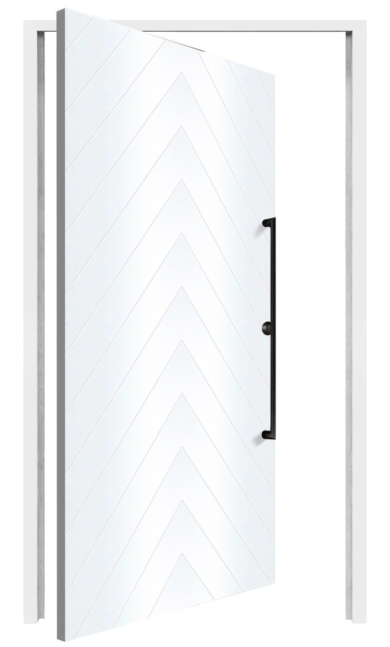 Stout Interior Pivot Door