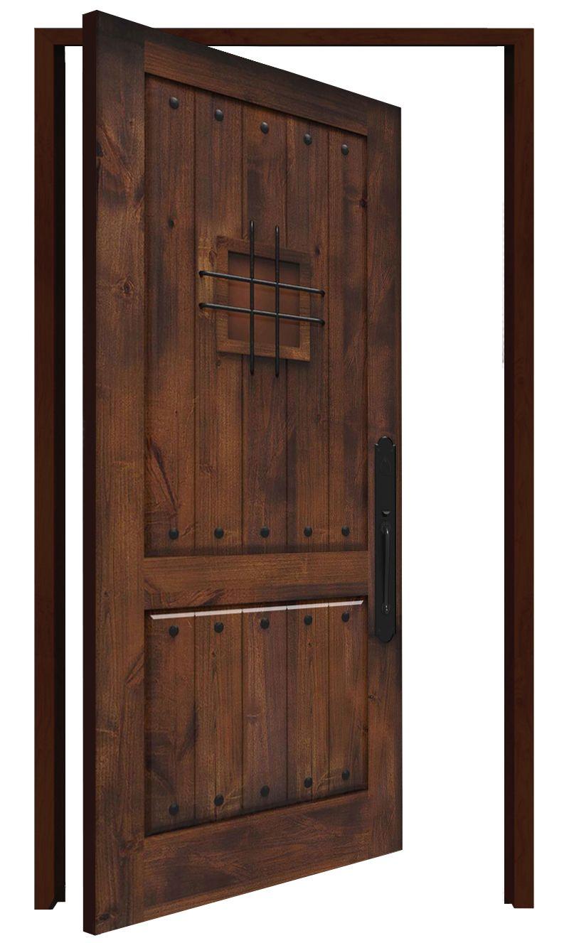 Stronghold Interior Pivot Door