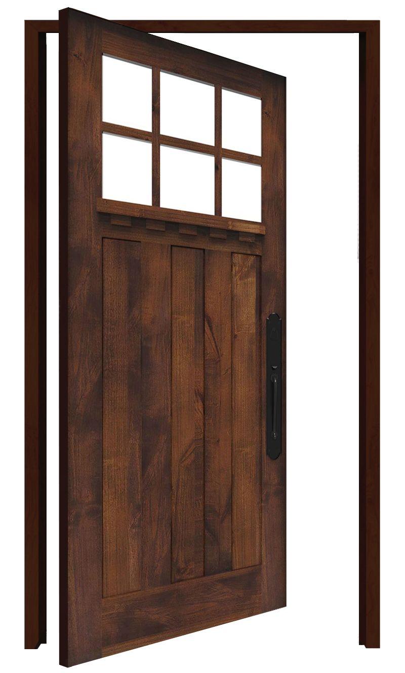 Rocky Point Interior Pivot Door